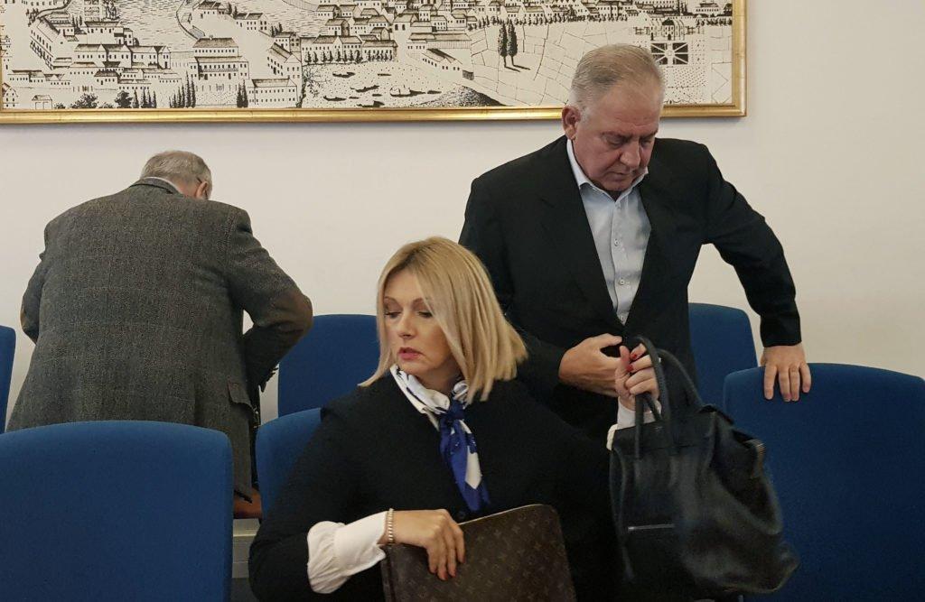 Oboje su bahati i ne poštuju sud:  Ivo Sanader i Jadranka Sloković odugovlače suđenje