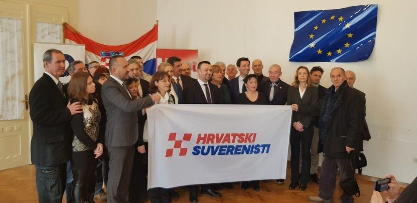 Novi Hrvatski suverenisti: Plenković slijedi globalističke ideje, u Bruxelles ćemo ići s mišljenjem, a ne po mišljenje