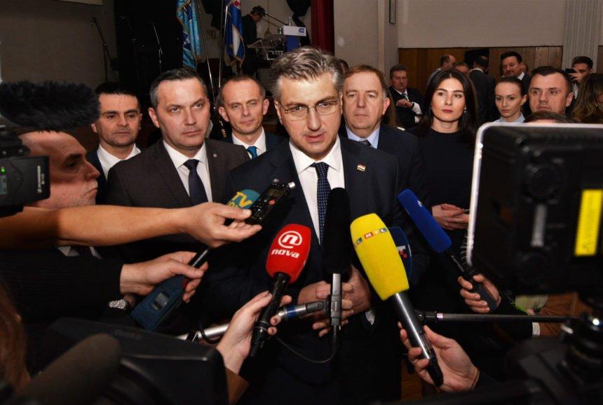 """Plenković o """"slučaju Klancir"""": Nema govora o zastrašivanju, policija je rutinski postupala"""