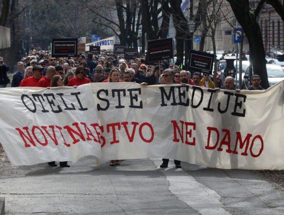 Cenzura i tužbe: Zašto sam bio na prosvjedu novinara