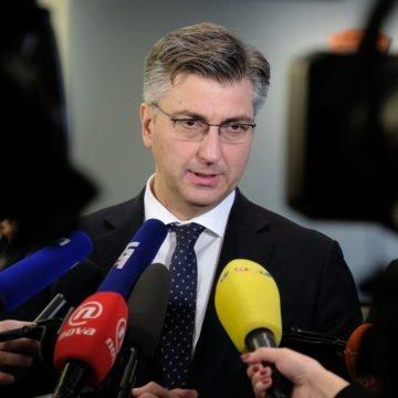Plenković poručio novinarima da nisu dobro informirani: Otkrio je što je rekao Brkiću