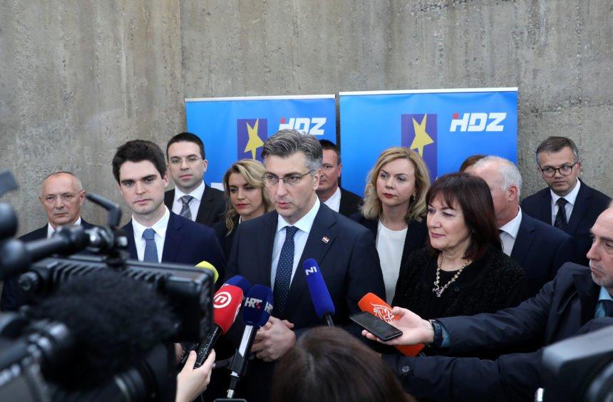 Samo četiri tisuće ljudi želi biti u zagrebačkom HDZ-u: Najgore u stranačkoj bazi Milijana Brkića