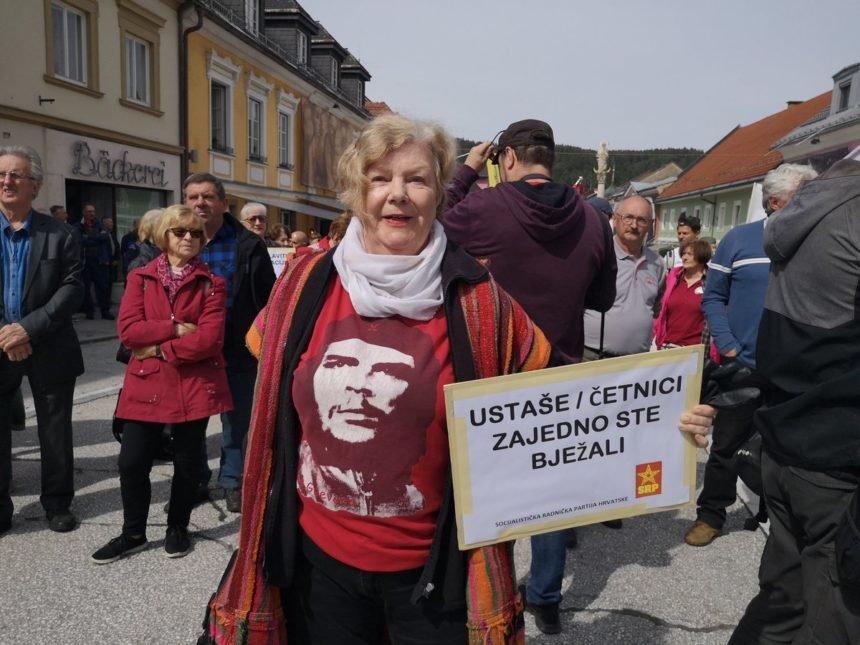 U Bleiburgu se okupilo stotinjak ekstremnih ljevičara: Traže zabranu komemoracije za žrtve partizanskih zločina