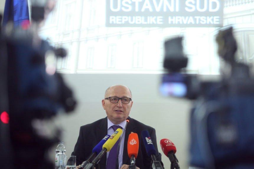 Ustavni sud na liniji HDZ-a. Donio je odluke koje su idealne za Andreja Plenkovića
