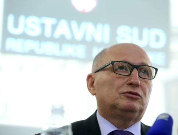 Predsjednik Ustavnog suda Miroslav Šeparović: Pozdrav Za dom spremni je ustaški pozdrav