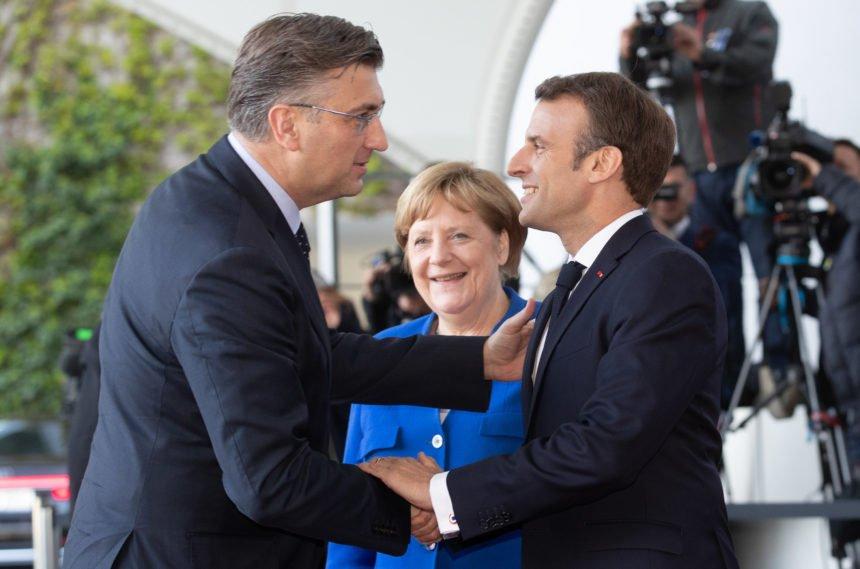 Macron izgurao Trumpa: Hoće li Plenković kupiti borbene avione od svog francuskog prijatelja?
