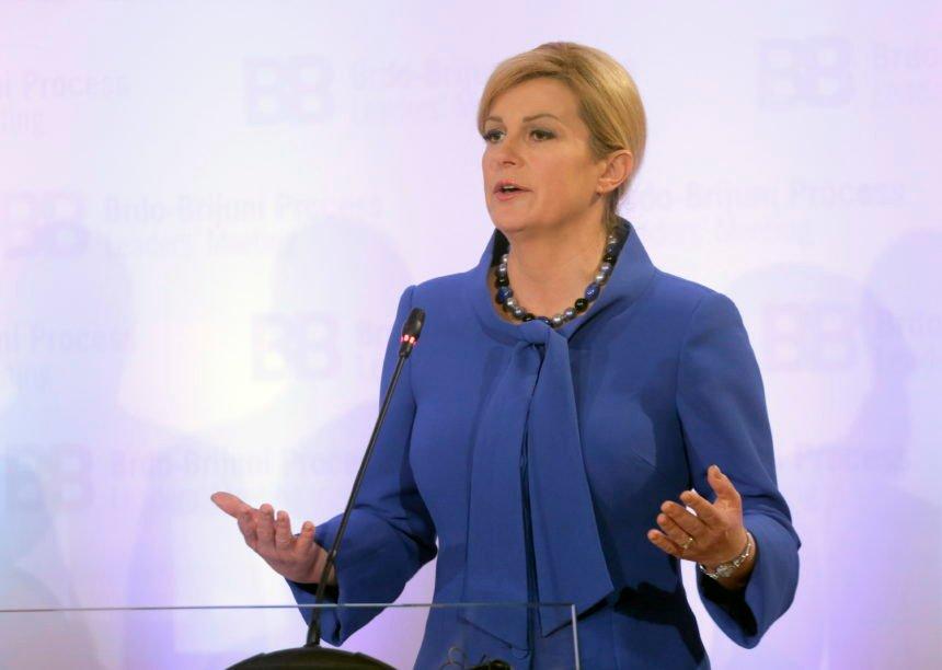 Kolinda oštro kritizirala protukandidate: Škoro bi od predsjednika želio napraviti faraona, a Milanović običnu marionetu