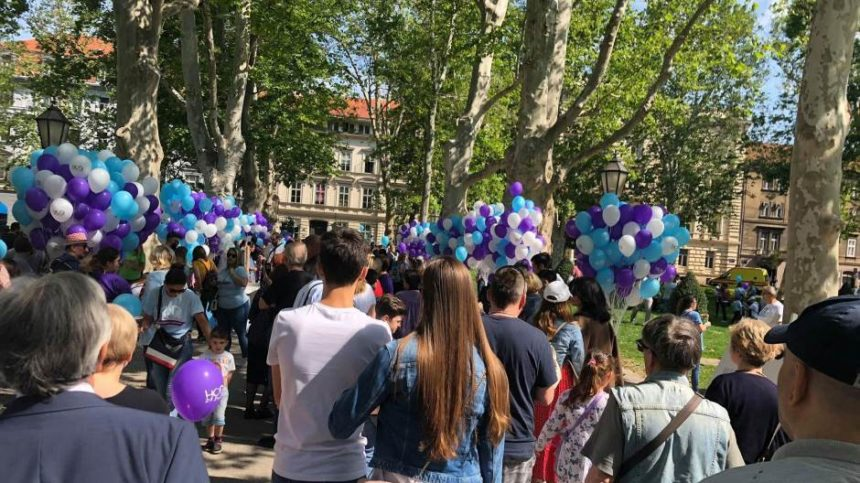 Počelo okupljanje na Zrinjevcu: Hod za život ide na Markov trg