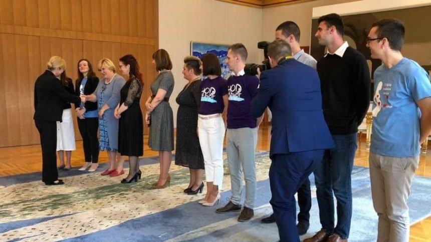 Uoči Hoda za život: Predsjednica primila predstavnike organizatora među kojima je i Željka Markić