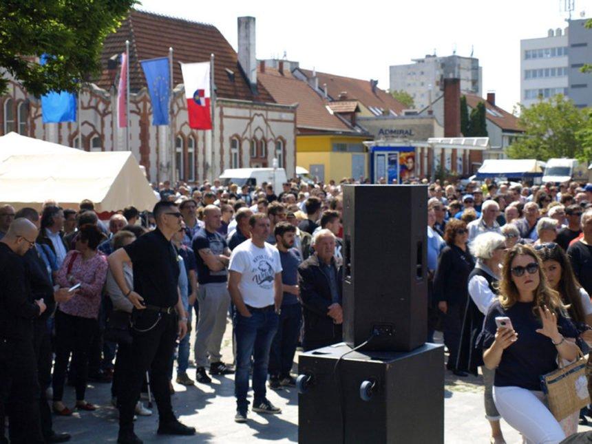 """Božinović ne misli da je na prosvjedu u Međimurju bilo govora mržnje: Ostat će """"uvijek vjeran"""" Andreju Plenkoviću"""