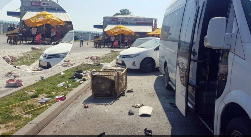 Strašna nesreća u Slavoniji: Kamion naletio na grupu ljudi na odmorištu, ima poginulih