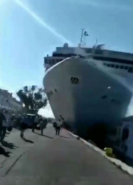 Panika u Veneciji nakon dramatičnog sudara brodova: Ozlijeđeno četvero putnika