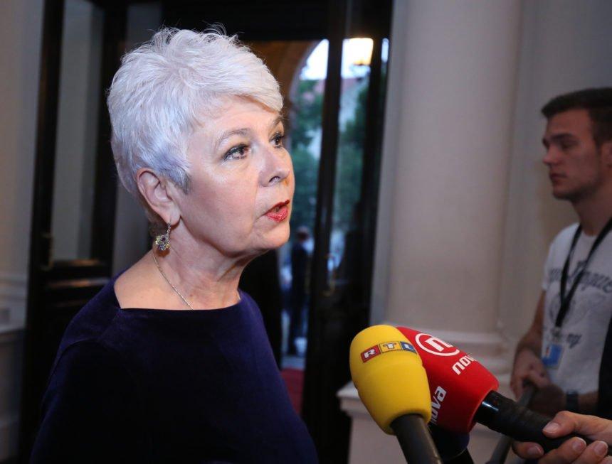Jadranka Kosor: Ostavke ministara nikako ne idu u prilog Andreju Plenkoviću