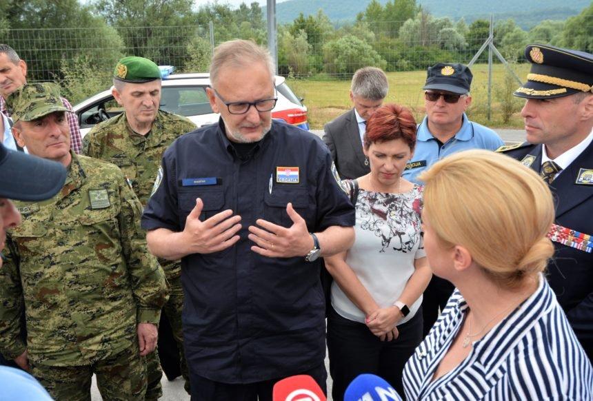 Božinović o optužbama na račun hrvatske policije: Nitko nije vidio to nasilje