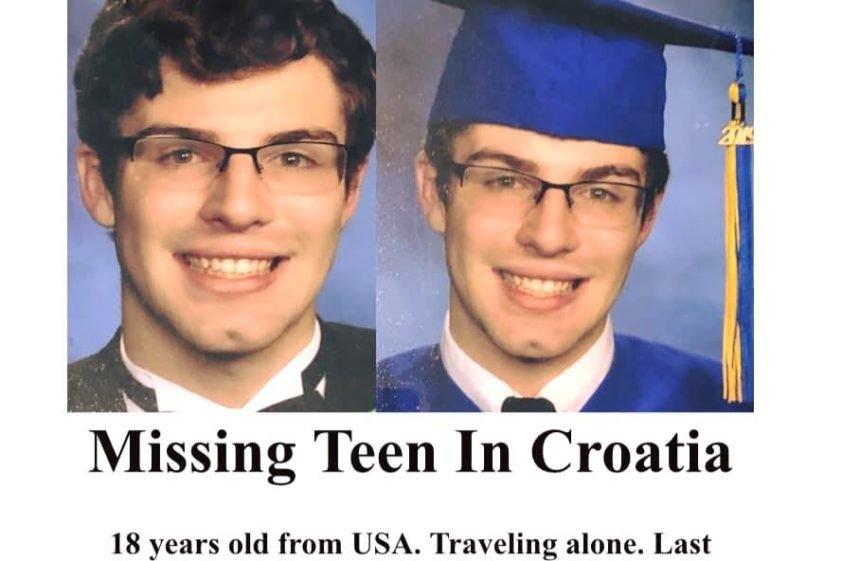 """Amerikanac nestao u Baškoj je pronađen: Roditelji """"zahvalni i skrušeni"""" zbog ponuda pomoći i brige"""