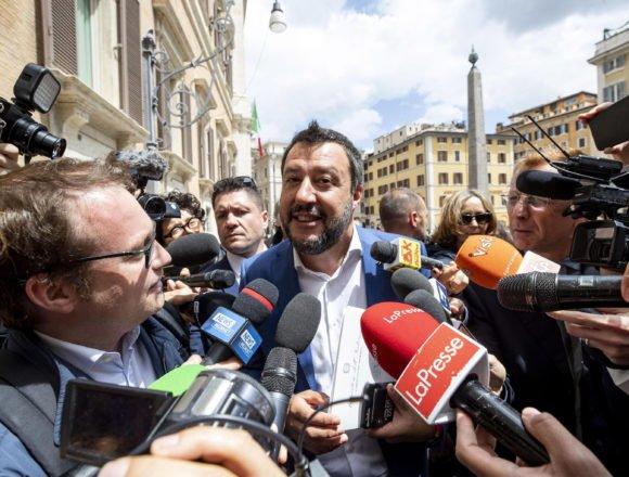 Salvini nikada popularniji: Popularnost mu raste  jer želi zaustaviti ilegalne migracije