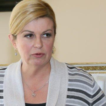 Kolinda o Oluji: Voljela bi da u BiH nikad ne zaborave tko im je pomogao u najtežim danima