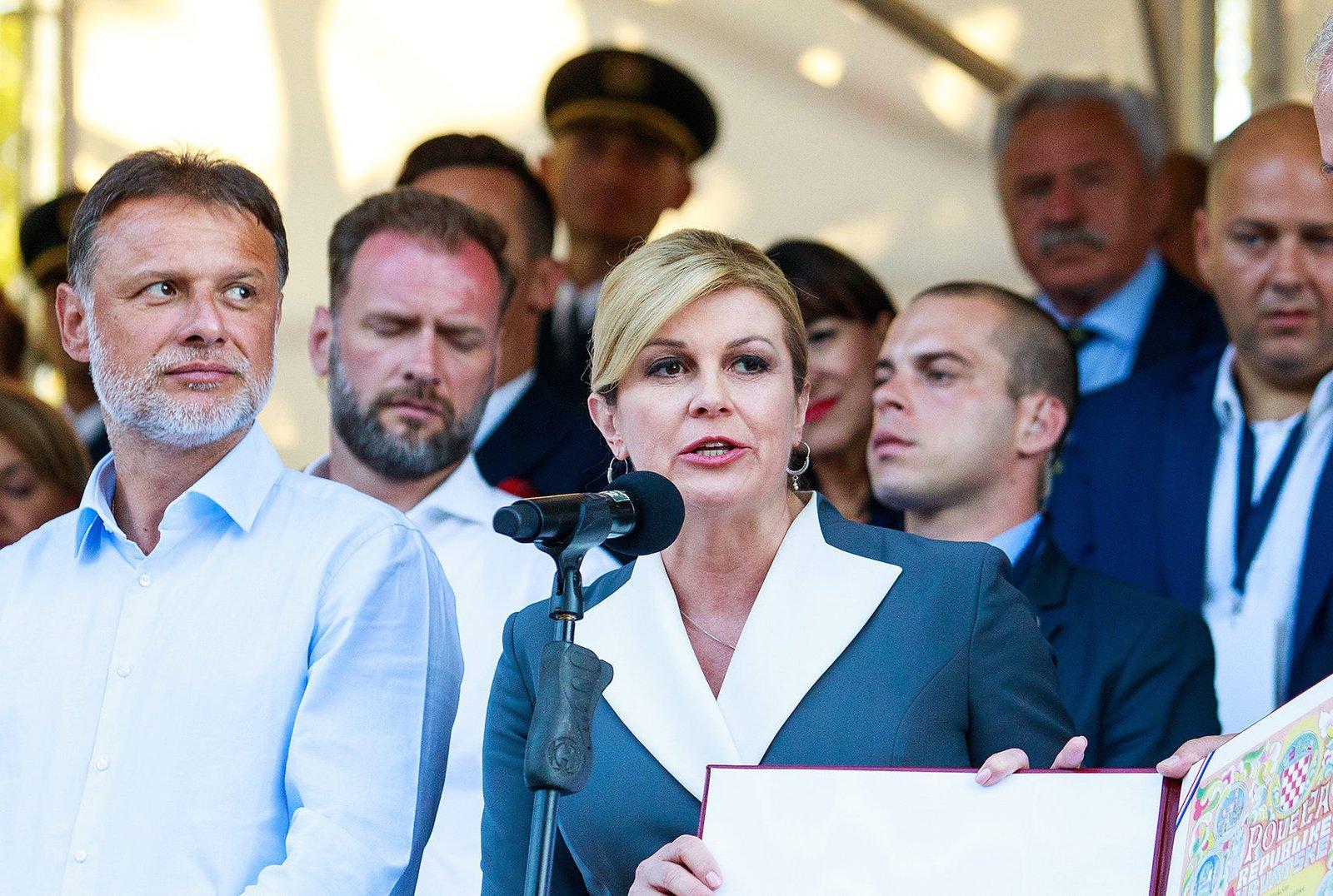 Progovorio urednik Hrvatskog tjednika: Kolindu je nazivao bestidnicom, ali ona ga je iznimno srdačno dočekala