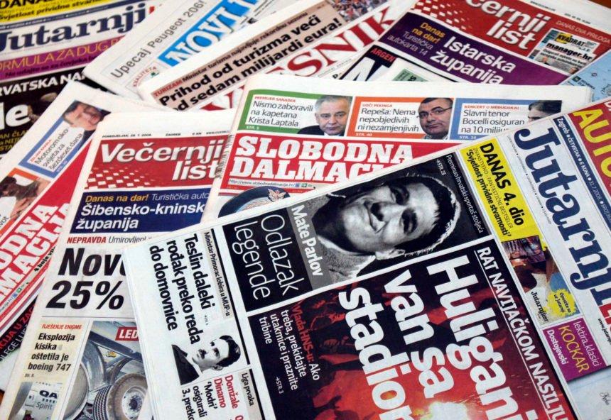 Nastavlja se nezaustavljivi trend pada prodaje novina: Mnogi će se iznenaditi kada saznaju koji je tjednik najprodavaniji