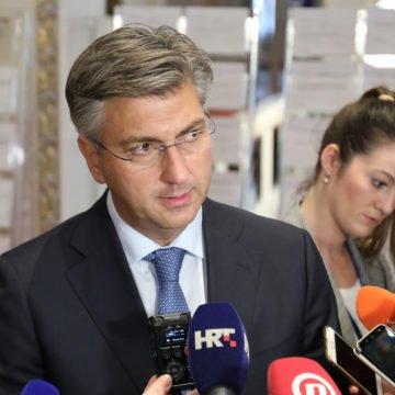 Plenković optužio GONG: To je lijeva nevladina udruga i produžena ruka SDP-a koja pakira Šuici