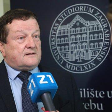 """Prigodna poštanska marka """"350 godina Sveučilišta u Zagrebu"""""""