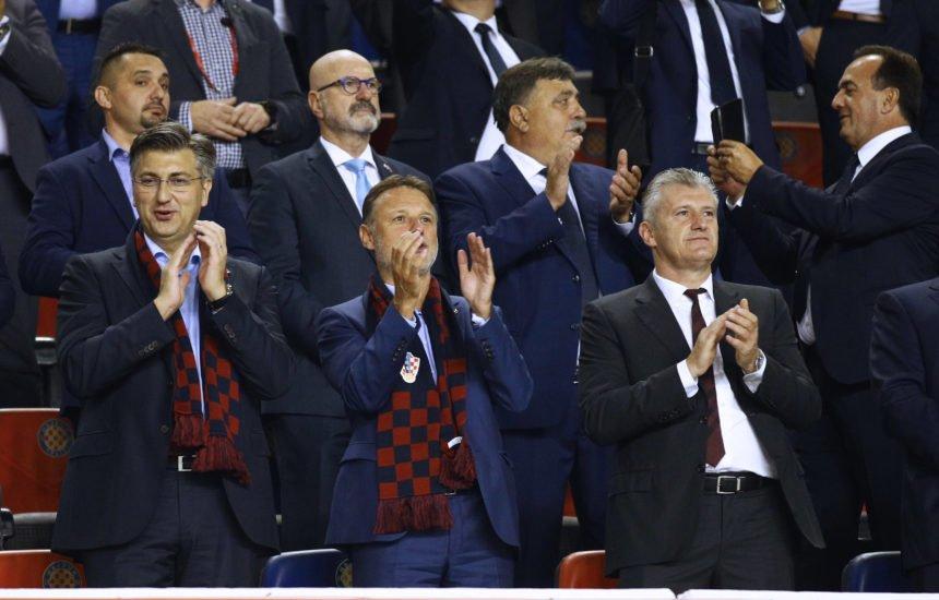 Poznati navalili na utakmicu Hrvatska – Mađarska: Tko je bio u loži, a tko na tribinama