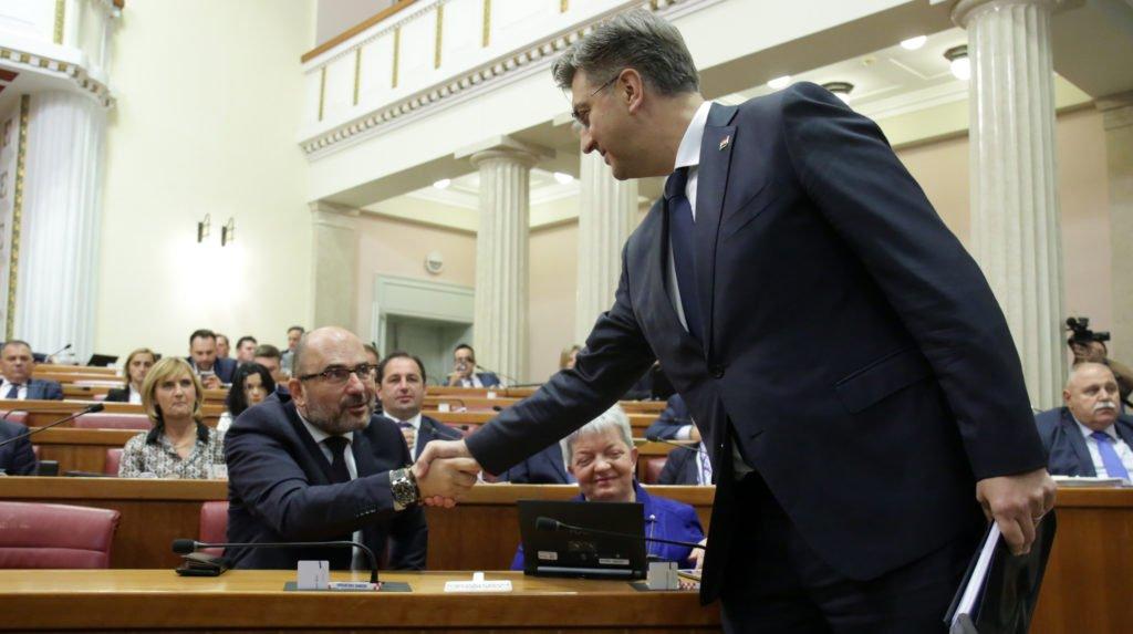 """Anušić o zakopanim """"ratnim sjekirama u HDZ-u"""": Jesu li Plenković i Brkić dogovorili """"primirje""""?"""