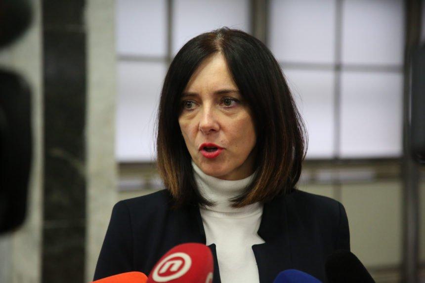 SDP želi smijeniti Blaženku Divjak: Hoće li Plenkovićeva Vlada braniti ministricu koju ne voli HDZ