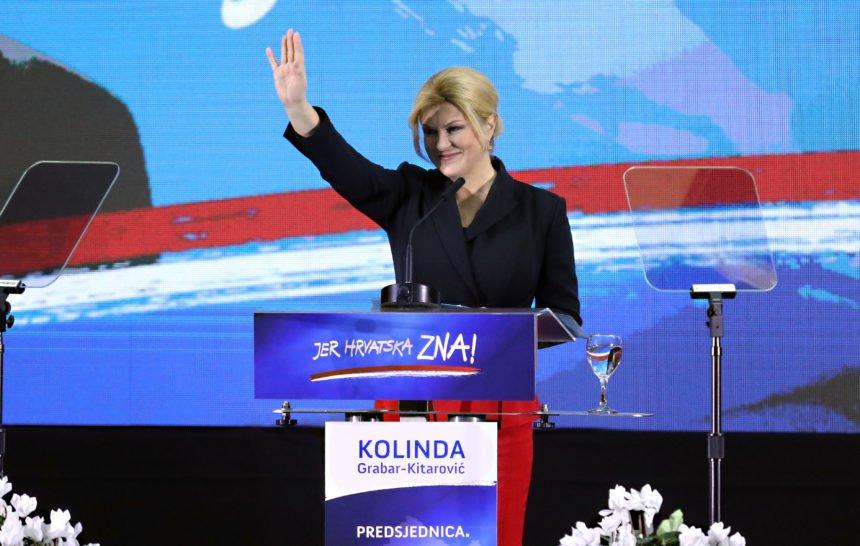Kolinda želi pridobiti i Hrvate iz Vojvodine: Postavila jumbo plakat u Subotici. Ima i onih koji negoduju