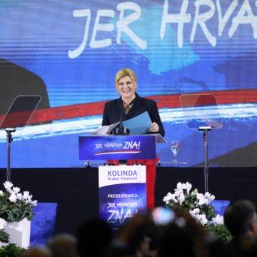 Kolinda krenula u predizbornu utrku kritizirajući Milanovićevu Vladu i Škorin odlazak na Martinje: Izvukla sam Hrvatsku iz regiona