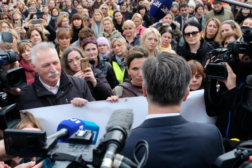 Plenković popušta jer silno želi da prestane štrajk: Čak je otkazao put u Madrid