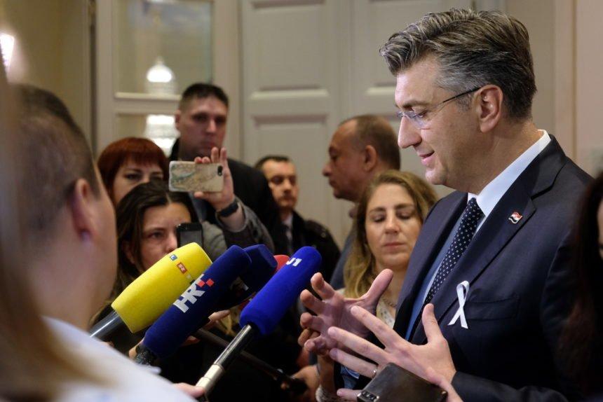 Plenković komentirao zahtjev oporbe za smjenom Blaženke Divjak: Bio je prilično neodređen