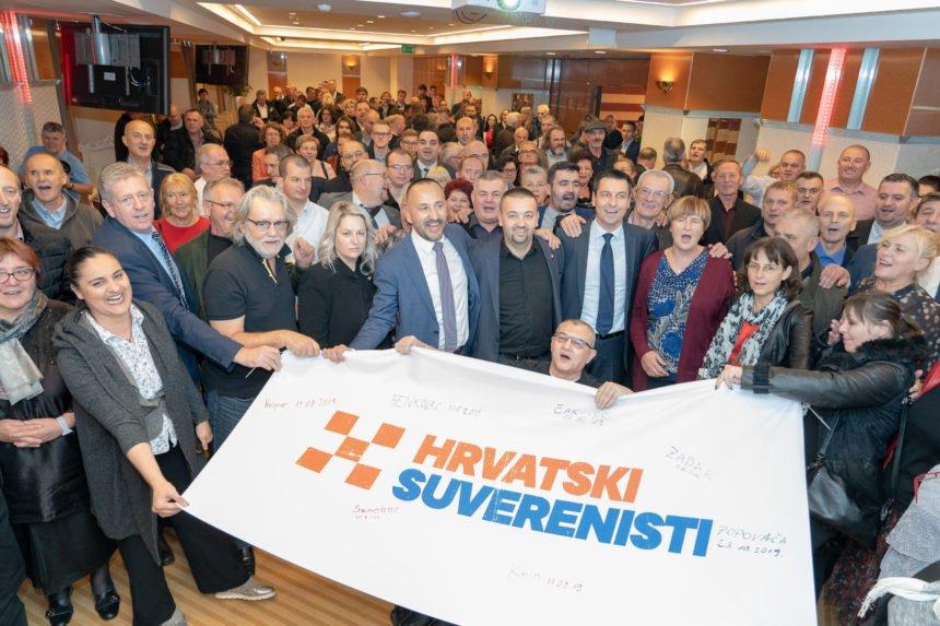 Osnovana stranka Hrvatski suverenisti: Udružili se Zekanović, Ilčić, Pavliček, Tomašić…