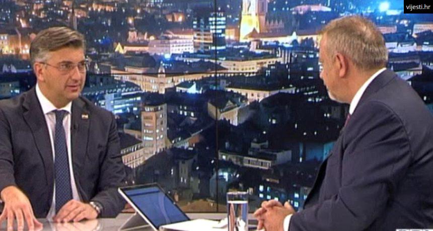Plenković se obrušio na Milanovića: Tvrdi da je kandidat s karakterom, a on je zapravo plačko