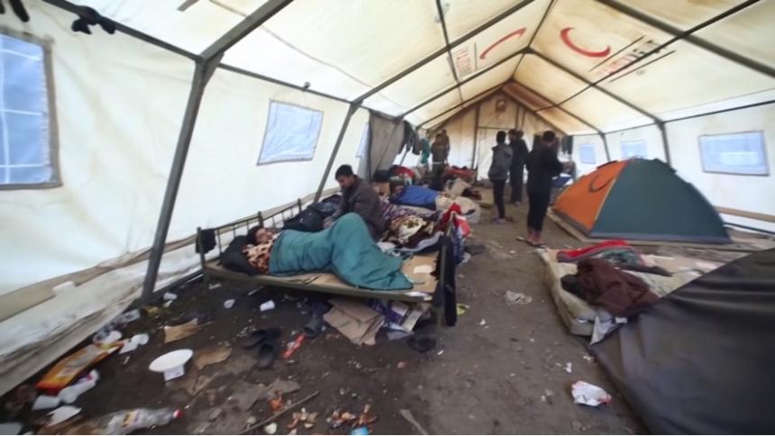 Alarmantno stanje u migrantskom kampu Vučjak: U Hrvatskoj životinje žive bolje od nas, žale se migranti