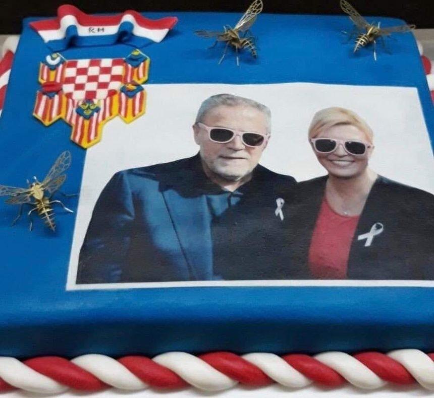 Dalija napala Kolindu i Bandića: Tko može jesti tortu s ovakvom slikom