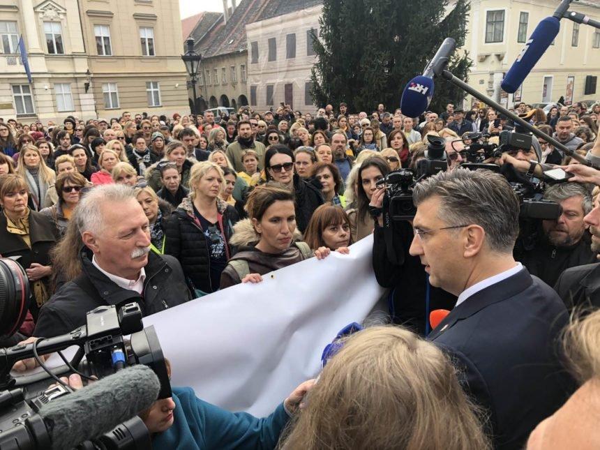 Plenković popustio, ali nezasitni sindikati urušavaju sustav: Malo im je povećanje plaće od 10 posto