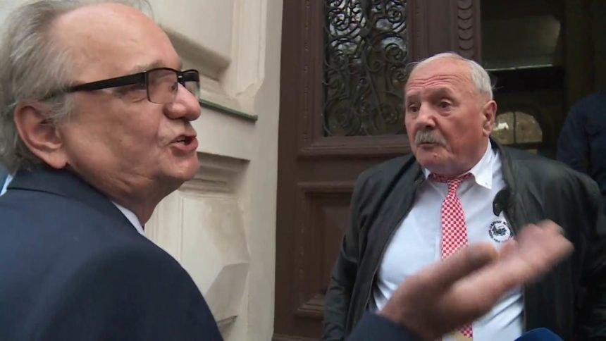Okršaj ispred sudnice između Glavaša i svjedoka koji je promijenio iskaz: Što je Jamanu rekao Glavašev sin