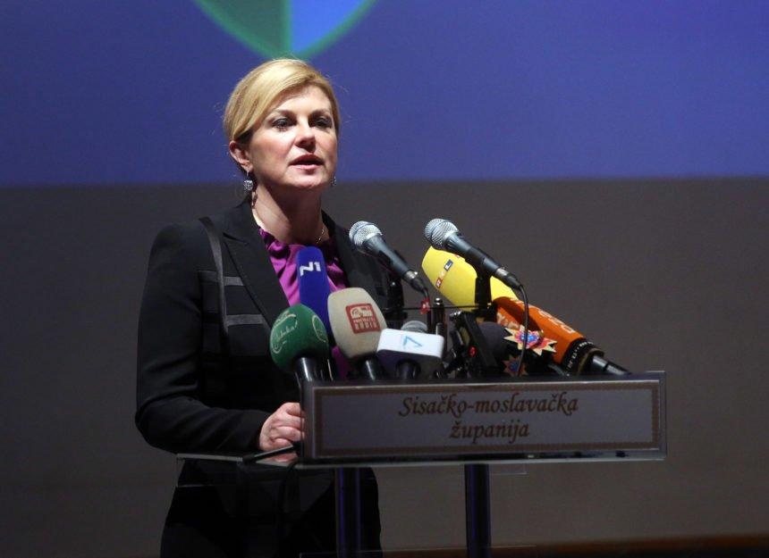 Kolinda o svojim kritičarima iz zagrebačkih salona: Rugaju mi se oni koji su otuđeni od naroda