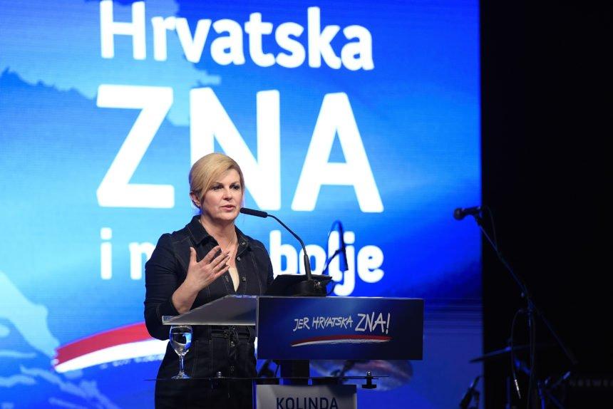 Kolinda optužila Škoru da je organizirao dobrotvorne koncerte na račun lokalne samouprave