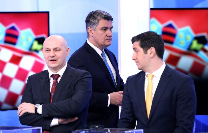 """HDZ euforičan: Kolinda je dominirala, Milanović je bio umišljen, a Škoro zgrčen i """"floskularan"""""""