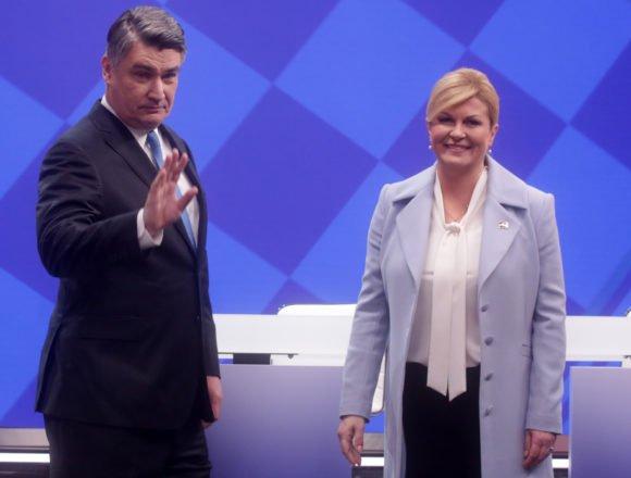 Ljepotica i zvijer u debati: Milanović je potvrdio da je agresivan, bahat i da ne voli ljude. Kolinda ga je trebala nešto pitati i o iritantnom šmrcanju