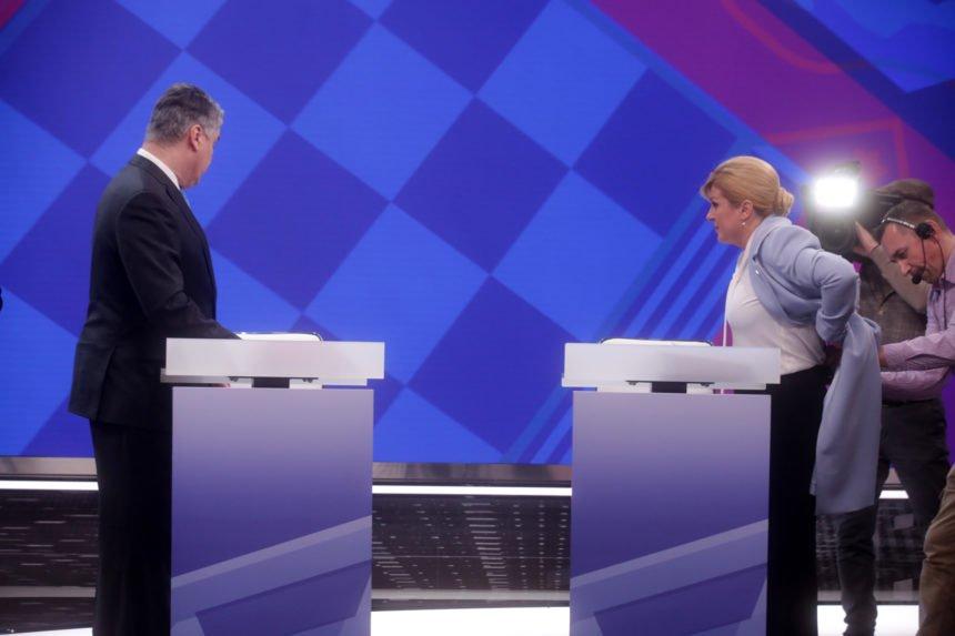 Stručnjaci donijeli presudu: Debata je bila kao ulična svađa. Kolinda je izgledala kao dama, a Milanović kao uličar