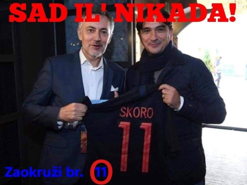 """HDZ optužio Škoru za falsifikat: Plitko, prizemno i jadno – kao da je Škoru odnijela """"Bujica"""""""