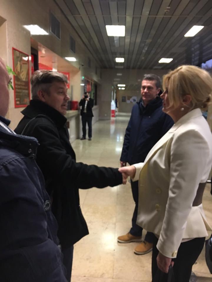 Predsjednica će pustiti novog Milana Bandića na Pantovčak: Danas dolazi u inspekciju