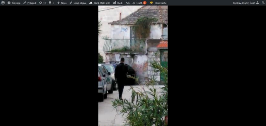 IMAMO VIDEO: Je li ovo dvostruki ubojica iz Splita?