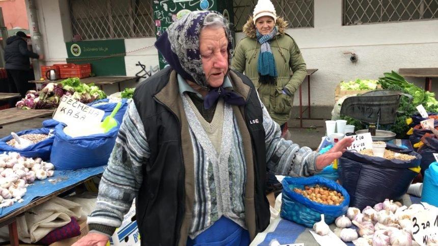 Prva kumica zagrebačkog Dolca: Barica ima svoje mušterije već 58 godina