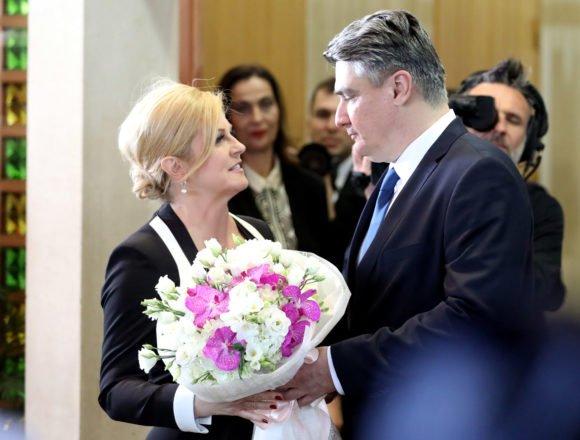 Milanović je sada Kolindu ispratio s cvijećem, ali sjećamo se vremena kada joj je jedva pružio ruku