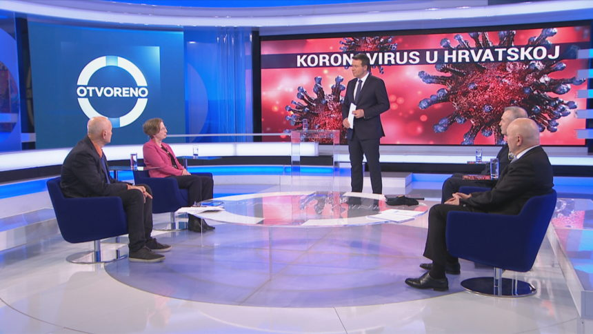 Letica u Otvorenom optužio medije za stvaranje histerije i ukorio ravnateljicu Markotić: Stalno govorite o stopi smrtnosti od koronavirusa