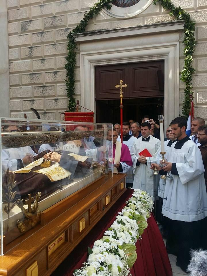 Sveti Leopold Mandić proglašen zaštitnikom oboljelih od zloćudnih bolesti: I sam je bolovao od raka jednjaka